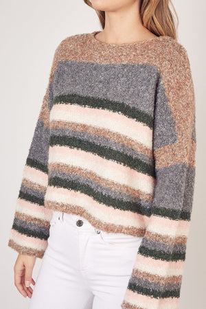 Hailey Striped Sweater