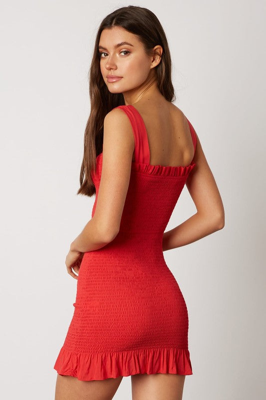 Angelina Dress Red