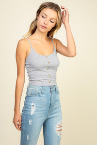 Tawni Tank Top Heather Grey