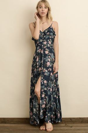 Bloom Button Down Maxi