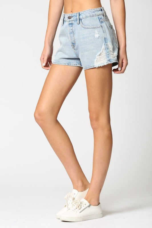 Gigi High Rise Shorts