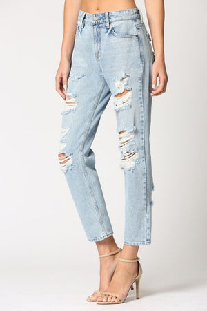 Dillon Distressed Jean