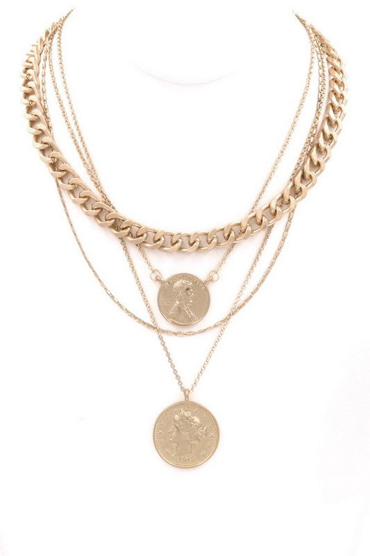 Camila Coin Necklace