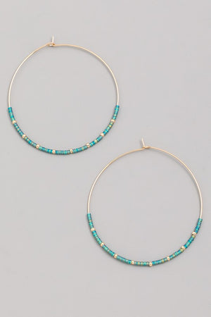 Bailey Hoop Earrings