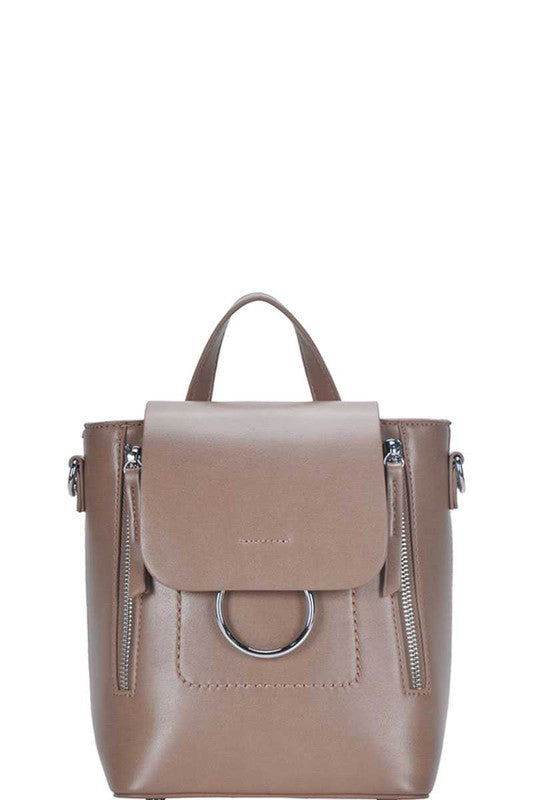 Melrose Convertible Backpack Taupe