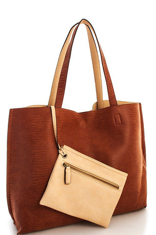 Shelby Tote Rust