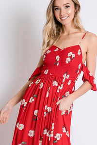 Ruby Floral Maxi Dress