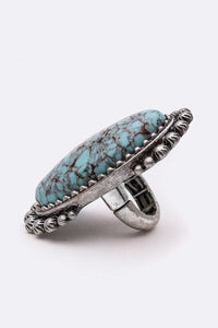 Myra Large Stone Ring