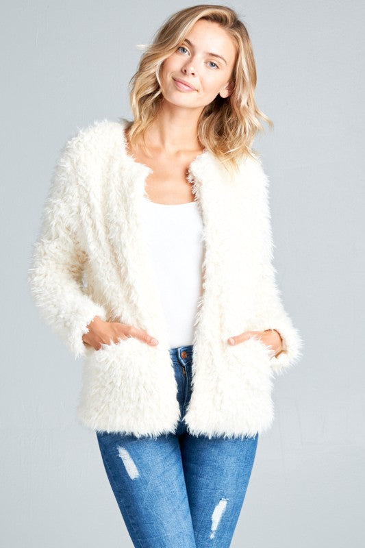 Nikki Faux Fur Jacket
