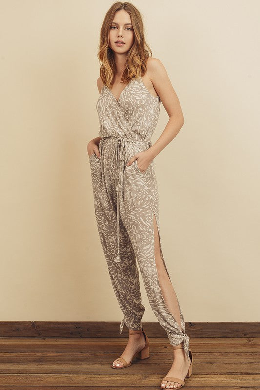 Miles Side Slit Jumpsuit
