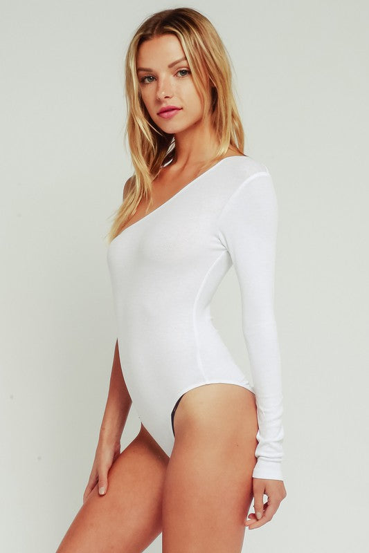 Cali Bodysuit White
