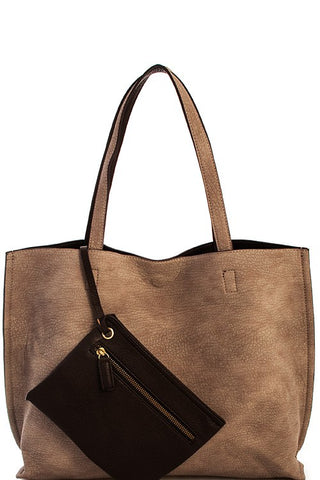 Shelby Tote Brown