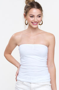 Must Have Basic Tube Top White