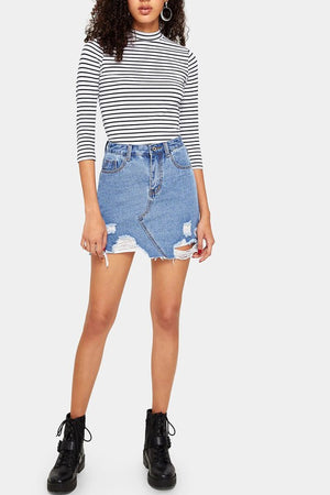Wylder Denim Skirt