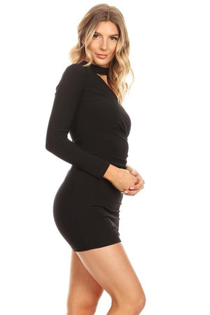 Kira One Sleeve Dress