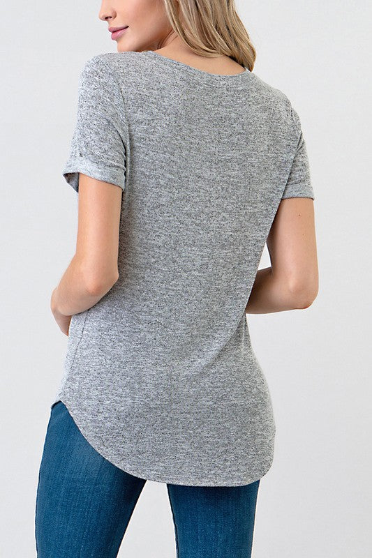 Allie V-Neck Tee
