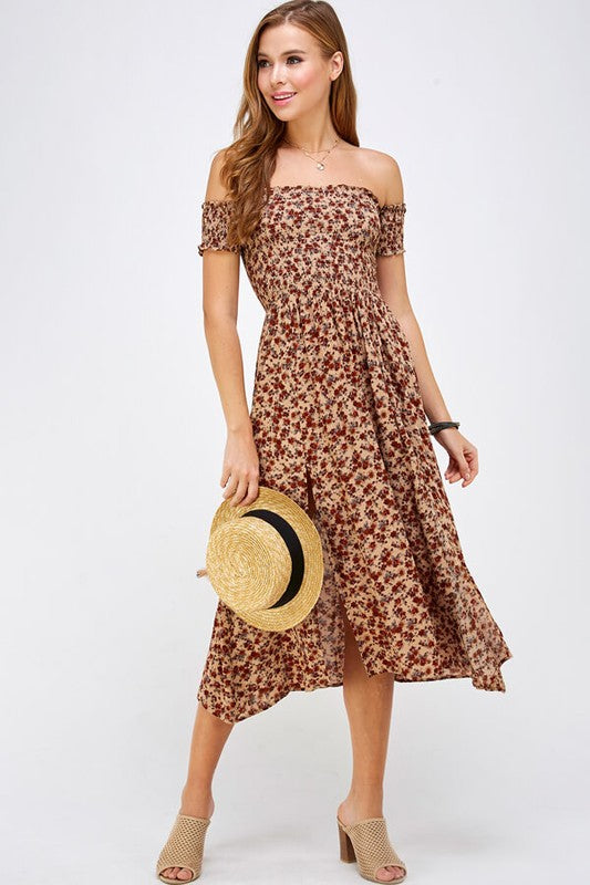 Saylor Dress Beige