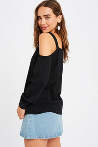 Sara Cotton One Shoulder Top