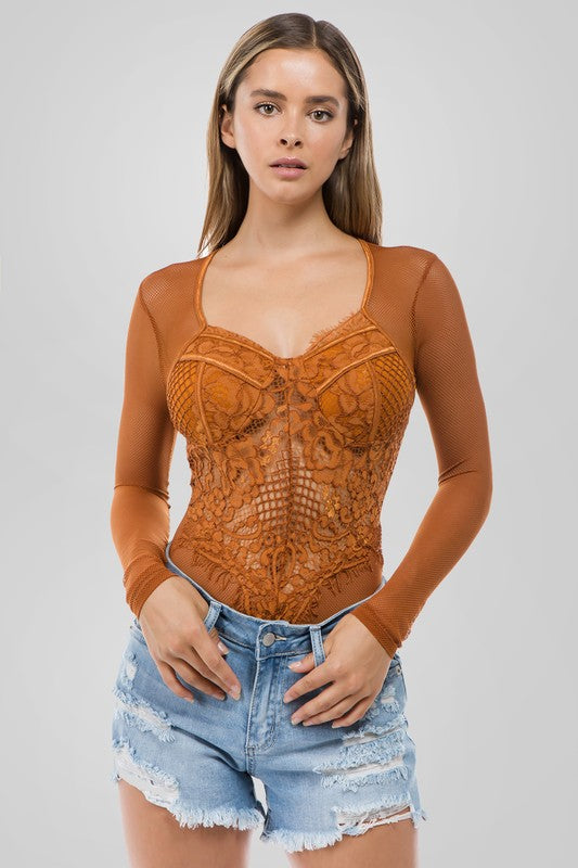 Dawn Lace Bodysuit