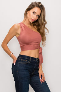Grace One Shoulder Top