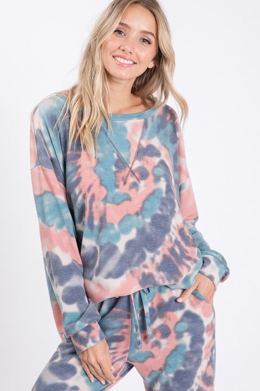 Oceanside Tie Dye Sweater