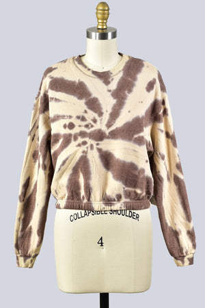 Tori Tie Dye Crop Sweater