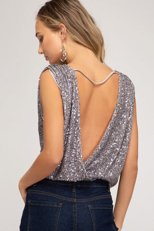 Melrose Sequin Tank