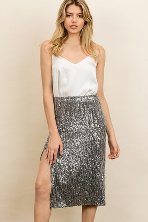 After Party Midi Skirt