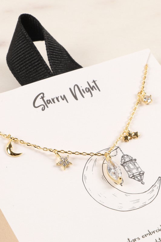 Starry Night Necklace