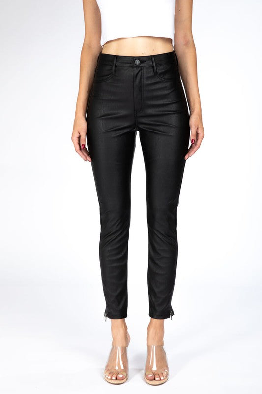 Nadine Faux Leather Pants