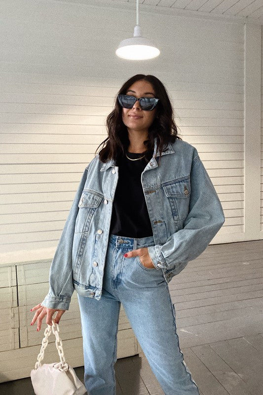 Skyscraper Denim Jacket
