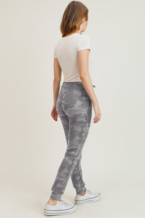 Camouflage Soft Brushed Joggers