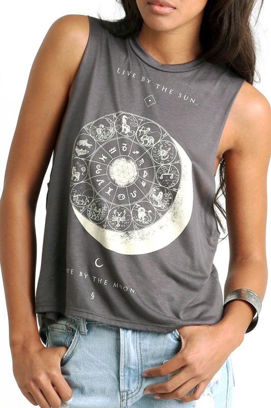 Eclipse Cropped Tank