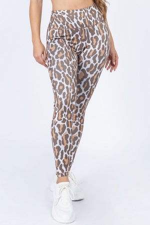 Leopard Active Leggings