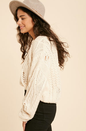 Sandy Cove Sweater