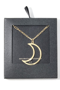 Rising Moon Necklace
