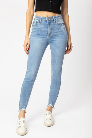 Gemma High Rise Ankle Skinny