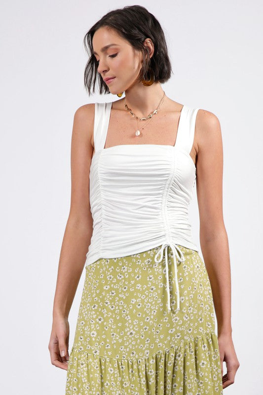 Mercedes Ruched Top