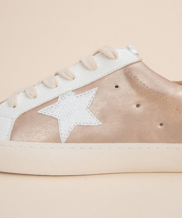Star Sneaker Rose Gold