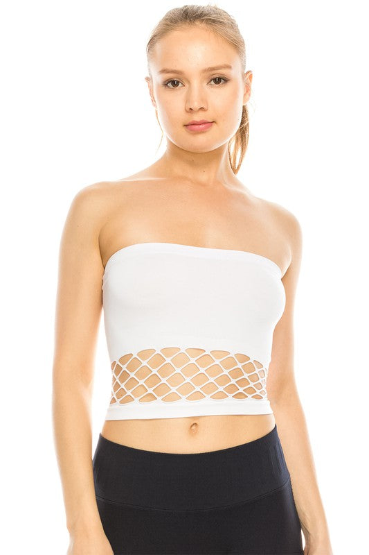 Bottom Mesh Tube Top