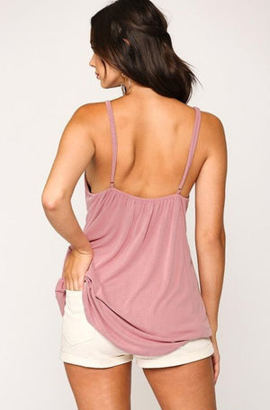 Dusty Rose Cami