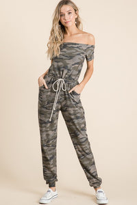 Camo Lounge Jumpsuit