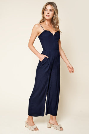 Give Me Frills Ruffled Jumpsuit