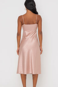 Rae Satin Slip Dress