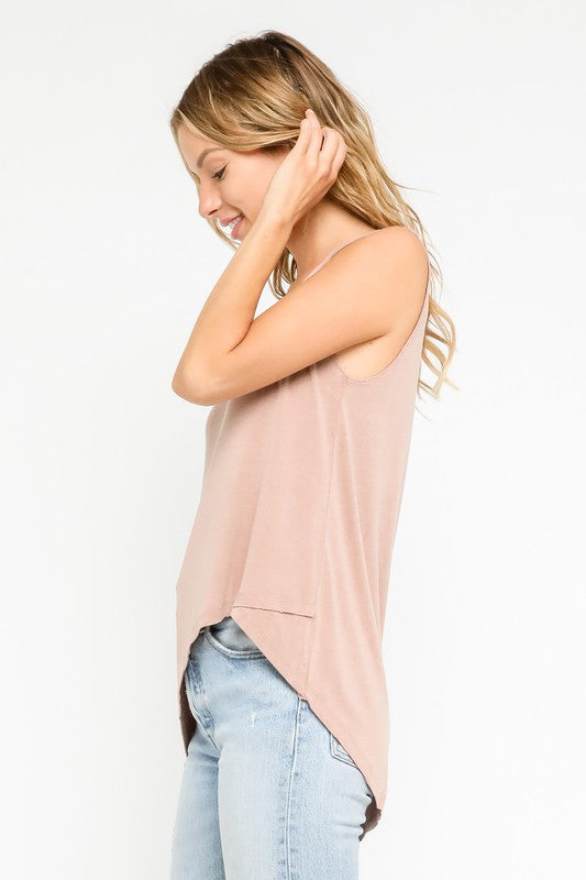 Kira Hi-Low Tank Top