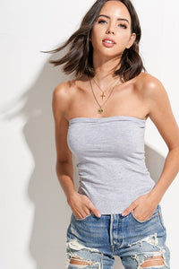 Must Have Basic Tube Top Grey