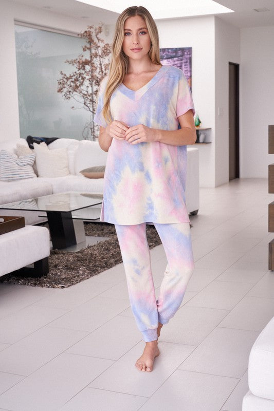 It's Tie Dye Lounge Set