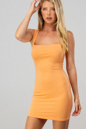 Napa Bodycon Dress Cantaloupe