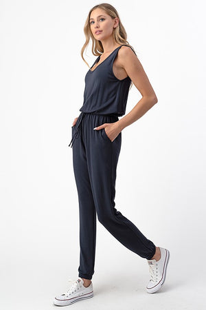 Julia French Terry Jumpsuit