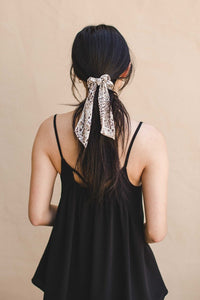 Summer Bandana Scrunchie
